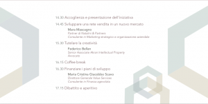 programma workshop innovare
